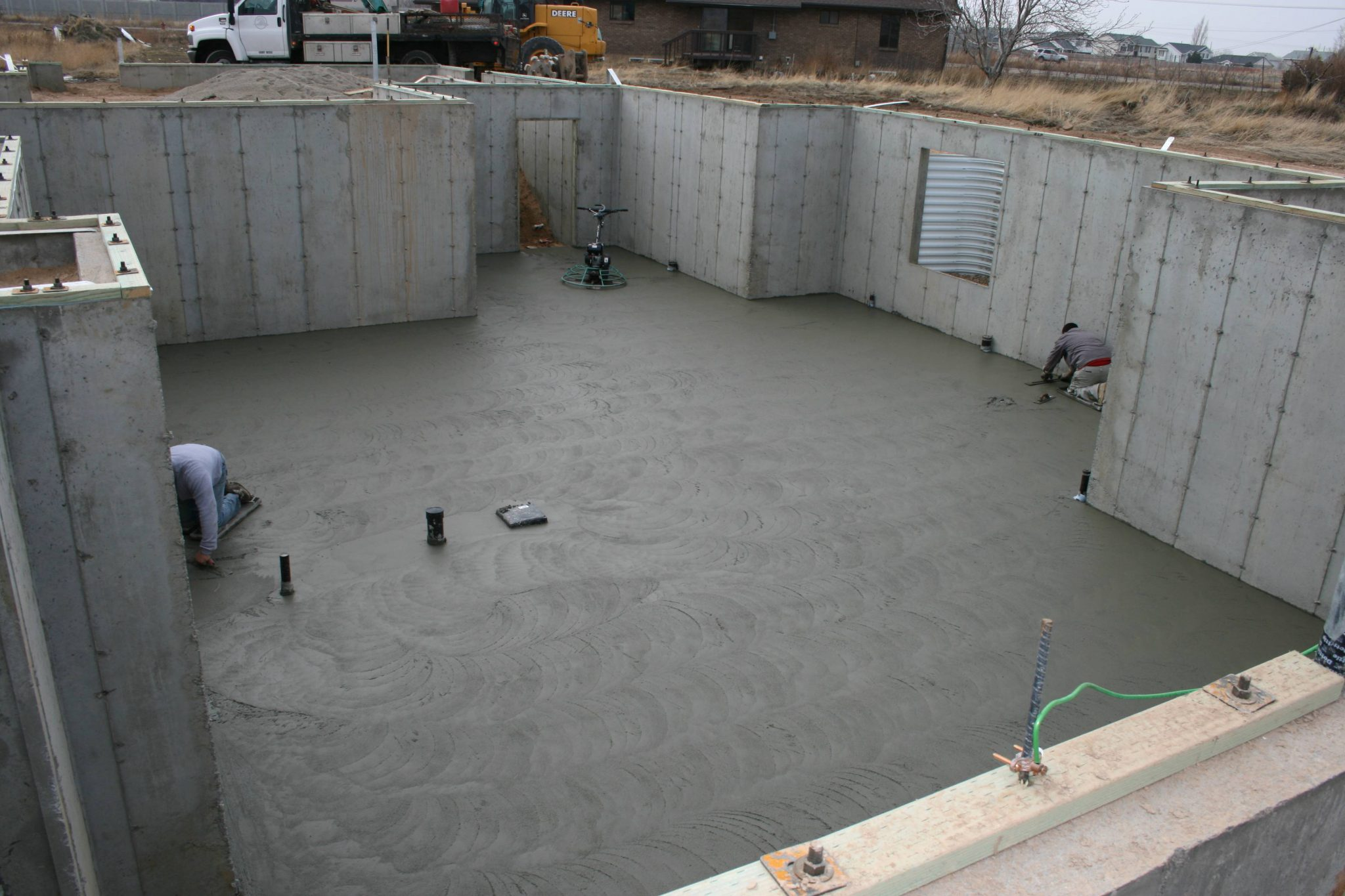 basement concrete