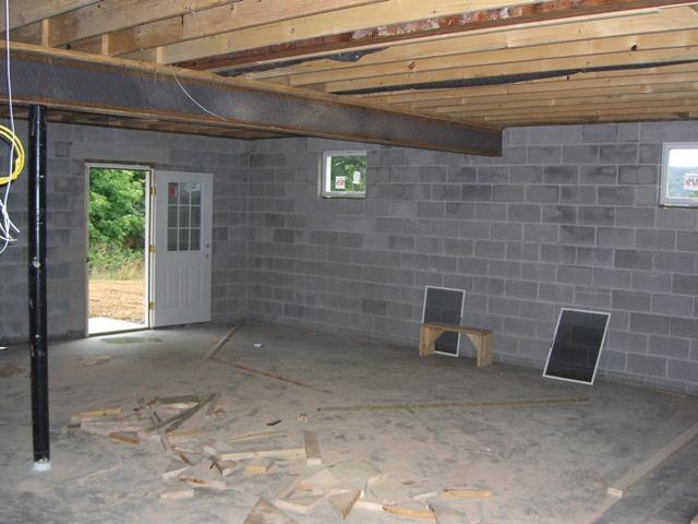 Basement Projects Stachler Concrete