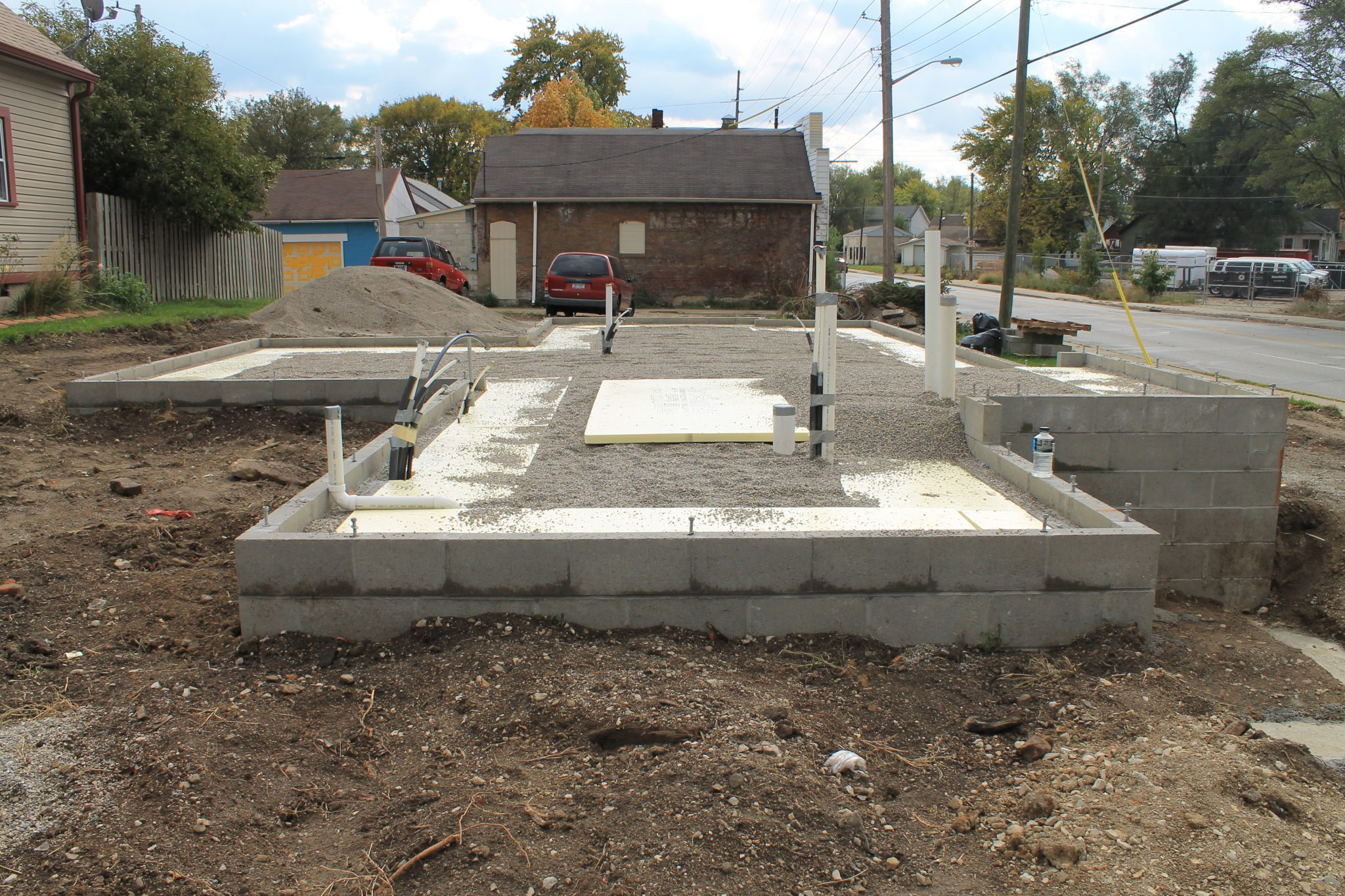 Foundation projects stachler concrete for House slab foundation
