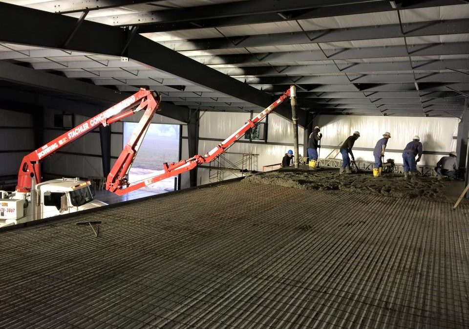 What is Concrete Pumping